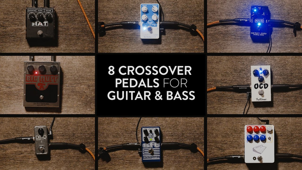 8 essential guitar bass crossover pedals reverb demo video youtube. Black Bedroom Furniture Sets. Home Design Ideas