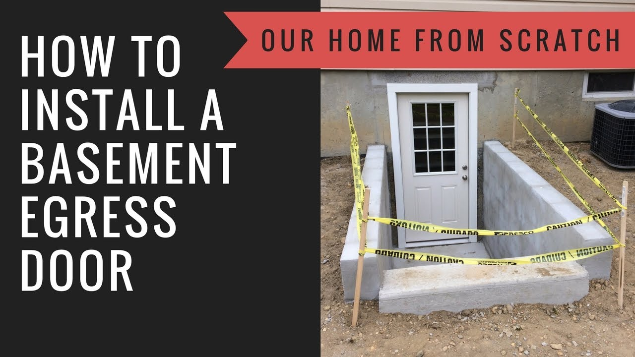 Charmant How To Install A Basement Egress