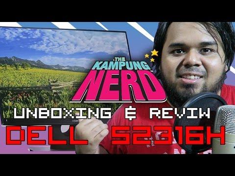 Monitor Terbaik untuk PS4!? | Unboxing & Review Dell S2316H | The Kampung Nerd