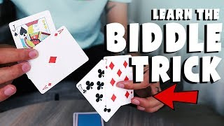 The POWERFUL 5-Card Effect : BIDDLE TRICK (TUTORIAL)