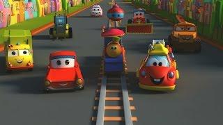 Боб,Поезд - Транспорт Приключения| поезд мультфильм для детей |Bob, The Train - Transport Adventure