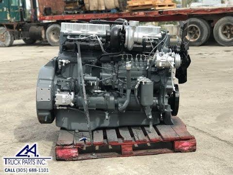 Mack EM6-250L E6 Diesel Truck Engine WALK AROUND Serial # 9H2280