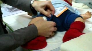 как пеленать новорожденных деток