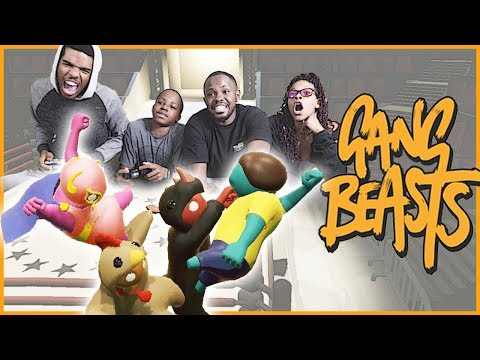 ULTIMATE RHINO BOSS BATTLE! - Gang Beasts Gameplay