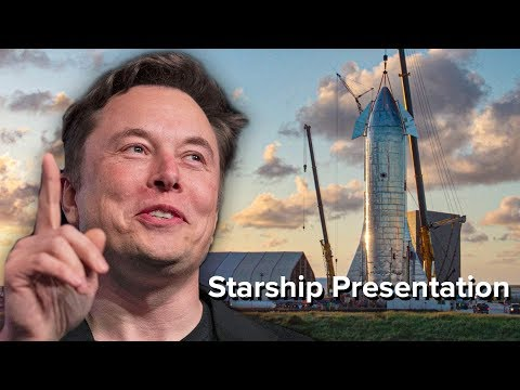 Elon Musk's Starship Announcement in 8 Minutes | SpaceX