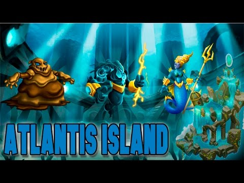 Monster Legends - ISLA ATLANTIS [Atlantis Island] - Sludger, Stöirm Y Anaitis
