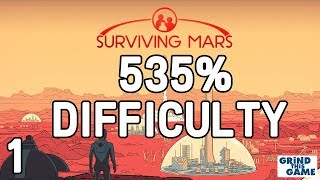 Surviving Mars - HARDEST? #1 (535%) DIFFICULTY Playthrough [4k]