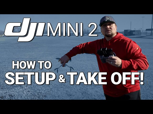DJI Mini 2 / SETUP & TAKE OFF! (Tutorial)