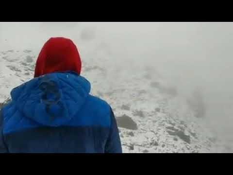 La nieve cubre Collado Jermoso en pleno agosto (Facebook/refugio.colladojermoso)