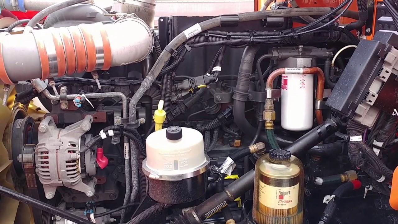 Paccar Mx 13 Fuel Filter Youtube