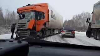 Жуткое ДТП на 401-м км. Тюмень - Омск, последствия