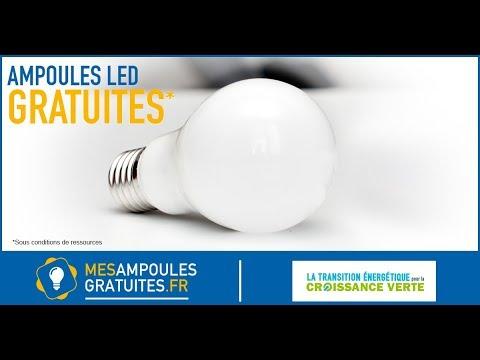 5 ampoules led gratuites mes ampoules gratuites youtube. Black Bedroom Furniture Sets. Home Design Ideas