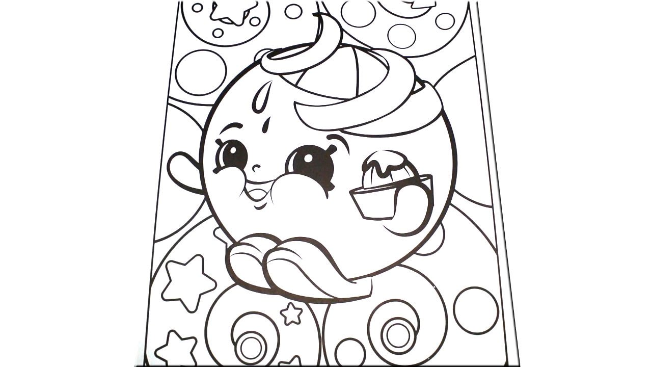 the color orange coloring pages - photo#8