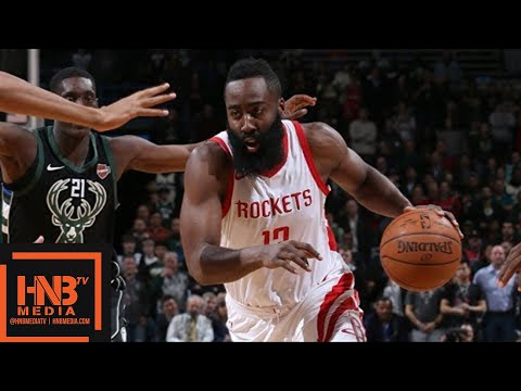 Houston Rockets vs Milwaukee Bucks Full Game Highlights / March 7 / 2017-18 NBA Season