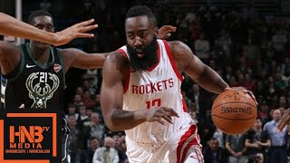 Houston Rockets vs Milwaukee Bucks Full Game Highlights / March 7 / 2017-18 NBA Season