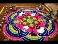 Sankranthi Muggulu II Pongal Rangoli II Rangoli Designs II Muggula Poti II Muggula Potilu !! Pandaga