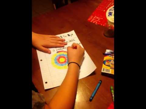 How to draw a awesome tie-dye drawing