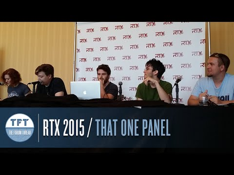 That One Panel @ RTX 2015