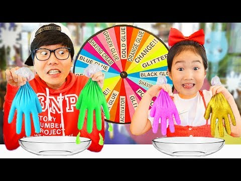 Wheel Slime Gloves Challenge