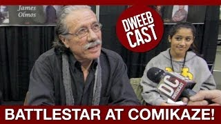 Edward James Olmos TROLLING at a Convention | DweebCast | OraTV Download