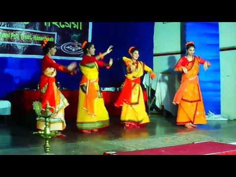 Tomay hridmajhare rakhbo chere debona best group dance choreography by Anamika