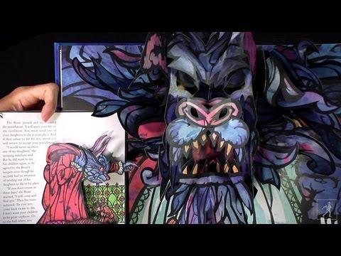 Beauty & the Beast: A stunning classic pop-up from Robert Sabuda!
