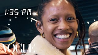 How Top Model Adesuwa Aighewi Gets Runway Ready | Diary of a Model | Vogue