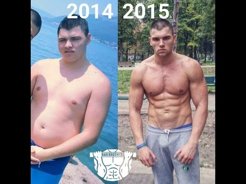 Incredible 1 Year Body Transformation (Calisthenics) Dean Willpower