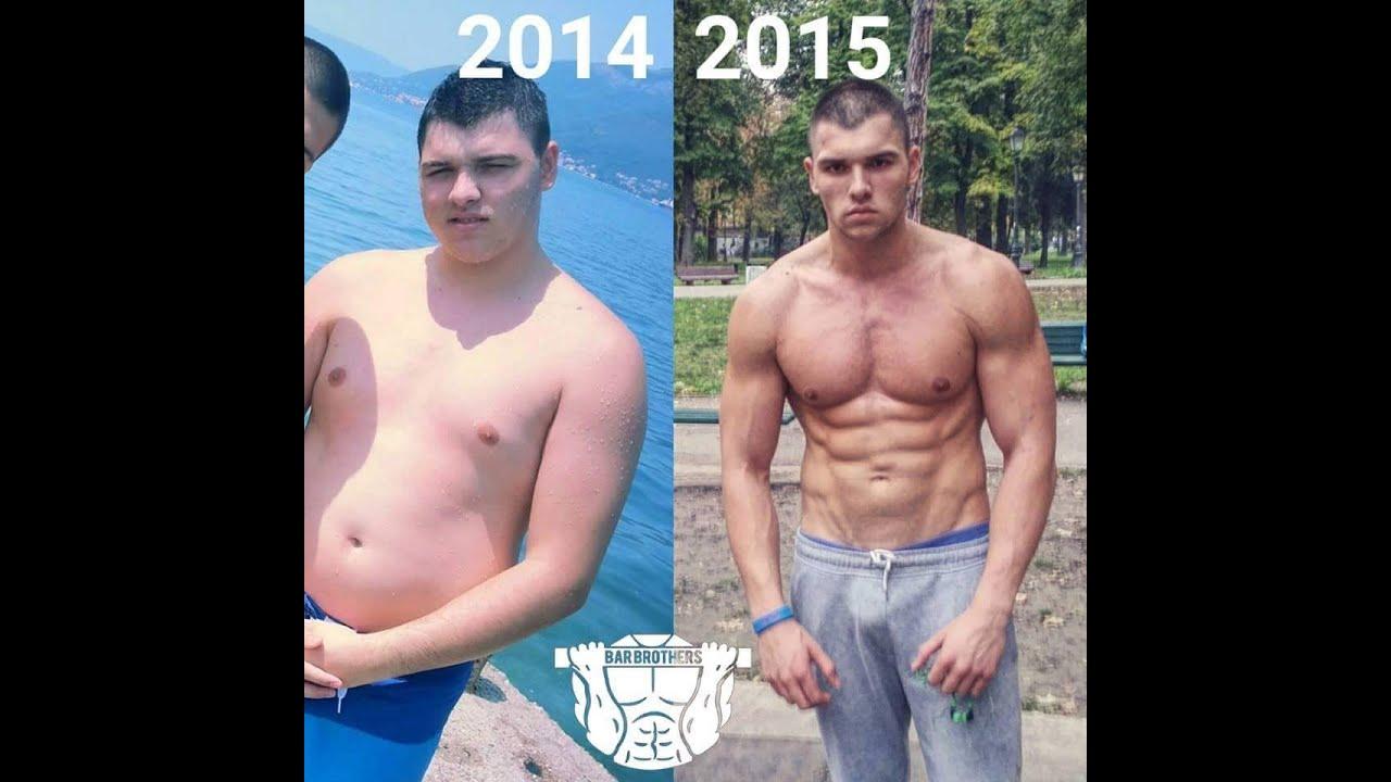 Incredible 1 Year Body Transformation (Calisthenics) - YouTube