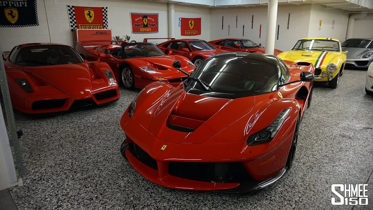 Visiting An Amazing Ferrari Collection   YouTube Gallery