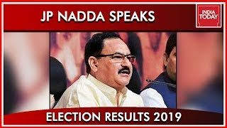 Union Minister JP Nadda Speaks To India Today | Results 2019