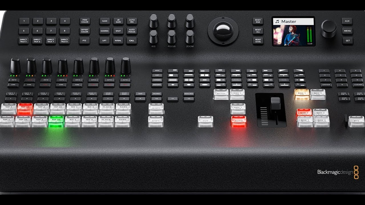 Need To Know Blackmagic Design Atem Television Studio Pro 4k Nab 2018 Youtube