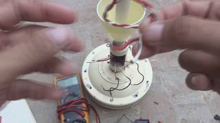 Ceiling fan wires connection detail. How to connect capacitor to ceiling fan