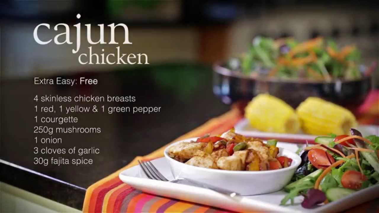 Slimming world easy cajun chicken recipe youtube Simple slimming world meals