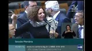 Jandira Feghali bate boca com Bolsonaro | Palestina vs Israel
