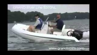 Надувний човен GRAND S370NLF. Огляд і тест на воді