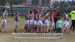 Deaf TV - Deaf Junior Footballer - Aussie Rules