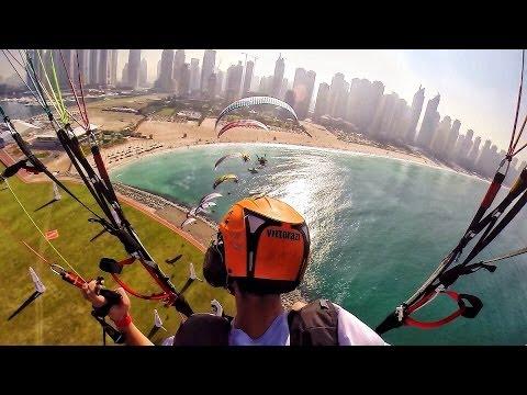 Sky Racers! - Dubai! - Flying in 4K - Paramotor Parabatix | DEVINSUPERTRAMP