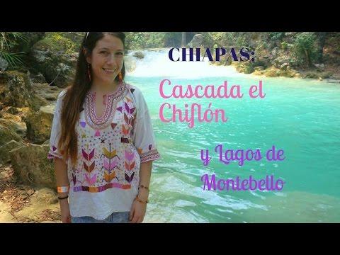 Cascada el chiflón y Lagos de Montebello, Chiapas, México