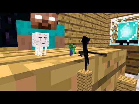 Monster School: Acrobatics - Minecraft Animation