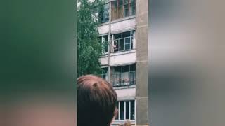 Полное видео из Саранска где Участковый спас ребёнка, это просто шок
