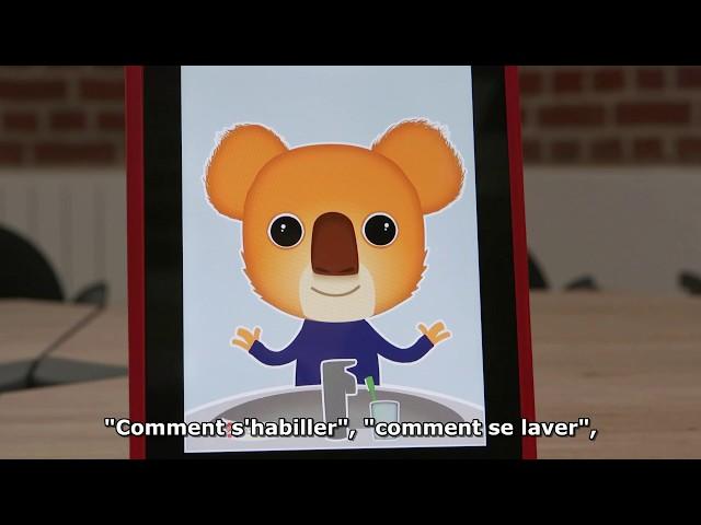 Présentation de l'application Ben le Koala (prix CCAH catégorie