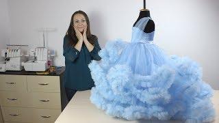 Как пошить Платье Облако - Мастер Класс презентация!