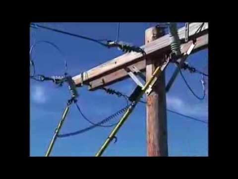 Hastings Digital Voltage Phase Meter model 6702 phasing a distribution circuit
