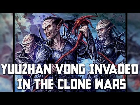 Yuuzhan Vong Invaded In The Clone Wars: Star Wars Rethink