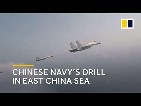 Chinese navy conducts drills in East China Sea