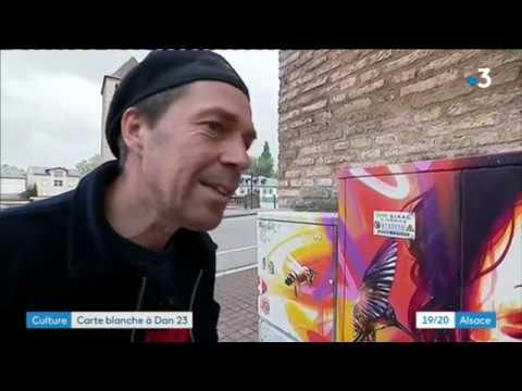 Download Carte blanche à Dan 23, l'artiste écolo de Strasbourg