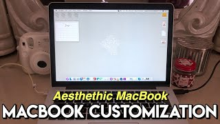 macbook customization + tips & tricks | how to have an aesthetic macbook
