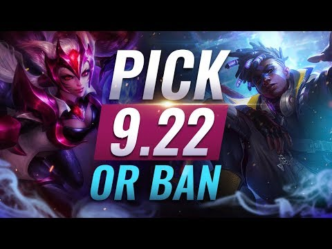 OP Pick or Ban: BEST BUILDS For EVERY Role - League of Legends Patch 922