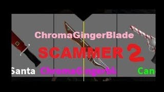 ROBLOX MM2 SCAM PROOF #2 PLAYER KINGRDT